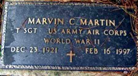 MARTIN (VETERAN WWII), MARVIN C - Randolph County, Arkansas | MARVIN C MARTIN (VETERAN WWII) - Arkansas Gravestone Photos