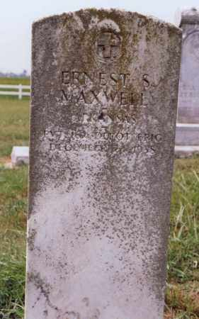 MAXWELL (VETERAN), EARNEST S. - Randolph County, Arkansas | EARNEST S. MAXWELL (VETERAN) - Arkansas Gravestone Photos