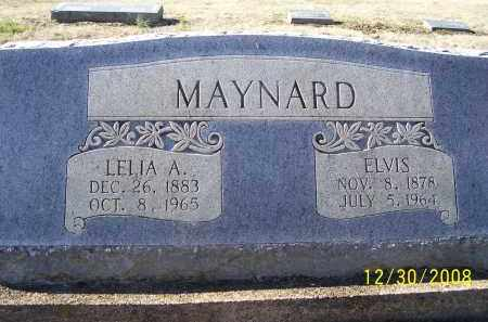 MAYNARD, ELVIS - Randolph County, Arkansas | ELVIS MAYNARD - Arkansas Gravestone Photos