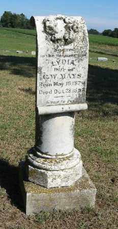 MAYS, LYDIA - Randolph County, Arkansas | LYDIA MAYS - Arkansas Gravestone Photos
