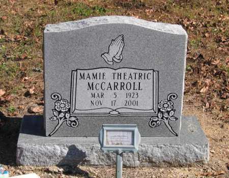 MCCARROLL, MAMIE THEATRIC - Randolph County, Arkansas | MAMIE THEATRIC MCCARROLL - Arkansas Gravestone Photos