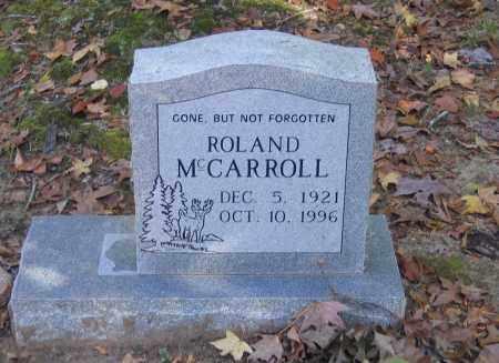 MCCARROLL, CHARLES ROLAND - Randolph County, Arkansas | CHARLES ROLAND MCCARROLL - Arkansas Gravestone Photos