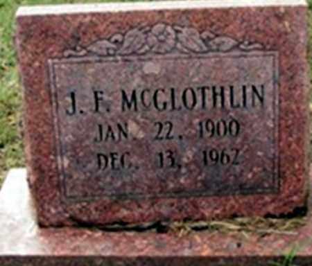 MCGLOTHIN, JOHN FRANKLIN - Randolph County, Arkansas | JOHN FRANKLIN MCGLOTHIN - Arkansas Gravestone Photos