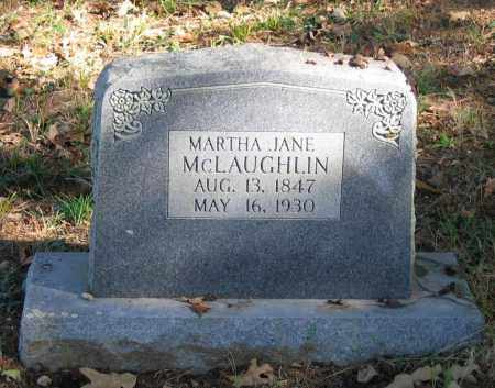 MCLAUGHLIN, MARTHA P. JANE - Randolph County, Arkansas | MARTHA P. JANE MCLAUGHLIN - Arkansas Gravestone Photos