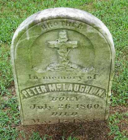 MCLAUGHLIN, PETER - Randolph County, Arkansas | PETER MCLAUGHLIN - Arkansas Gravestone Photos
