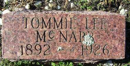 MCNABB, TOMMIE LEE - Randolph County, Arkansas | TOMMIE LEE MCNABB - Arkansas Gravestone Photos