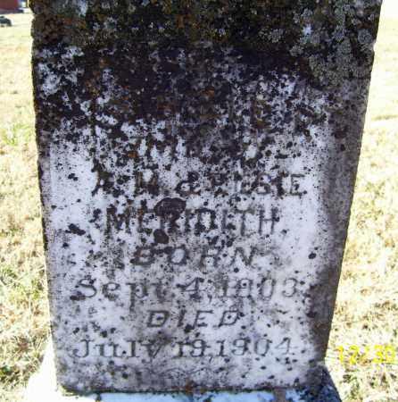 MERIDITH, ISABELLE R. - Randolph County, Arkansas | ISABELLE R. MERIDITH - Arkansas Gravestone Photos
