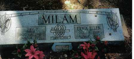 MILAM, LEO - Randolph County, Arkansas | LEO MILAM - Arkansas Gravestone Photos
