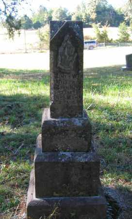 MILLER, JAMES W. - Randolph County, Arkansas | JAMES W. MILLER - Arkansas Gravestone Photos
