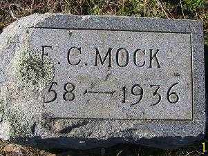MOCK, E. C. - Randolph County, Arkansas | E. C. MOCK - Arkansas Gravestone Photos