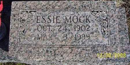 MOCK, ESSIE - Randolph County, Arkansas | ESSIE MOCK - Arkansas Gravestone Photos