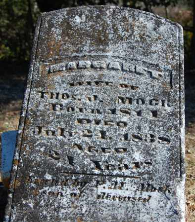 MOCK, MARGARET - Randolph County, Arkansas | MARGARET MOCK - Arkansas Gravestone Photos
