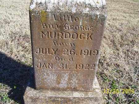 MURDOCK, BILL GEORGE - Randolph County, Arkansas | BILL GEORGE MURDOCK - Arkansas Gravestone Photos