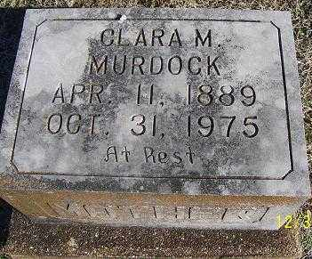 MURDOCK, CLARA M. - Randolph County, Arkansas | CLARA M. MURDOCK - Arkansas Gravestone Photos
