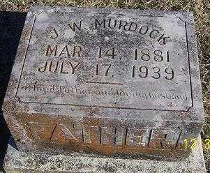 MURDOCK, J. W. - Randolph County, Arkansas | J. W. MURDOCK - Arkansas Gravestone Photos