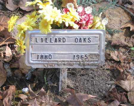 OAKS, LILLARD - Randolph County, Arkansas | LILLARD OAKS - Arkansas Gravestone Photos