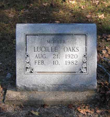 JOHNSON OAKS, LUCILLE - Randolph County, Arkansas | LUCILLE JOHNSON OAKS - Arkansas Gravestone Photos