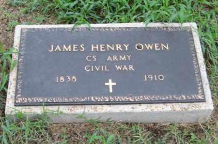 OWEN  (VETERAN CSA), JAMES HENRY - Randolph County, Arkansas | JAMES HENRY OWEN  (VETERAN CSA) - Arkansas Gravestone Photos