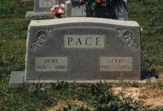 PACE, DUKE  GATSON - Randolph County, Arkansas | DUKE  GATSON PACE - Arkansas Gravestone Photos