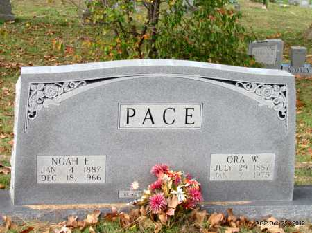 PACE, NOAH EDWARD - Randolph County, Arkansas | NOAH EDWARD PACE - Arkansas Gravestone Photos