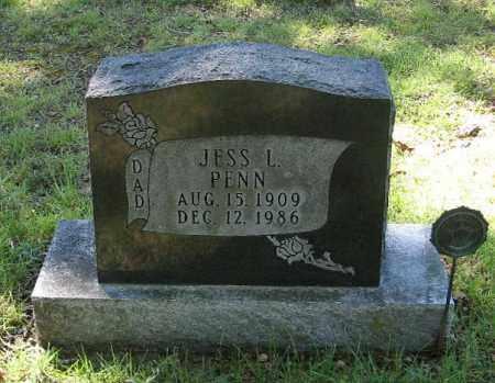 PENN, JESS L - Randolph County, Arkansas   JESS L PENN - Arkansas Gravestone Photos