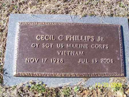 PHILLIPS, JR (VETERAN VIET), CECIL C - Randolph County, Arkansas | CECIL C PHILLIPS, JR (VETERAN VIET) - Arkansas Gravestone Photos