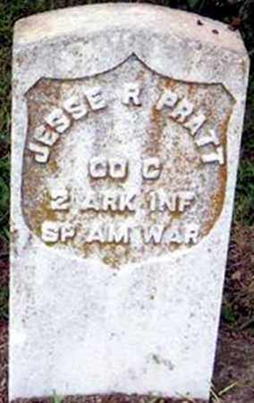 "PRATT  (VETERAN SAW), JESSE RICHARDSON ""RED JESSE"" - Randolph County, Arkansas 