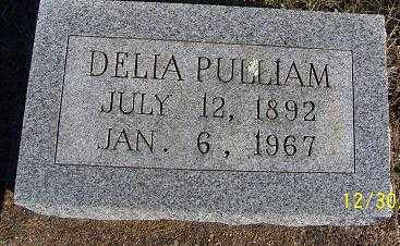PULLIAM, DELIA - Randolph County, Arkansas | DELIA PULLIAM - Arkansas Gravestone Photos