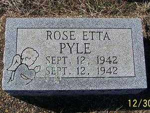 PYLE, ROSE ETTA - Randolph County, Arkansas | ROSE ETTA PYLE - Arkansas Gravestone Photos