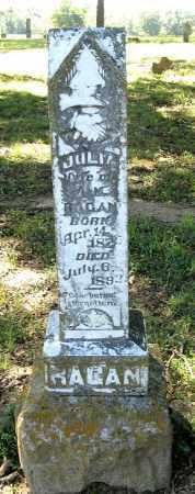 RAGAN, JULIA - Randolph County, Arkansas | JULIA RAGAN - Arkansas Gravestone Photos