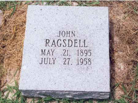 RAGSDELL, JOHN (H.) - Randolph County, Arkansas | JOHN (H.) RAGSDELL - Arkansas Gravestone Photos