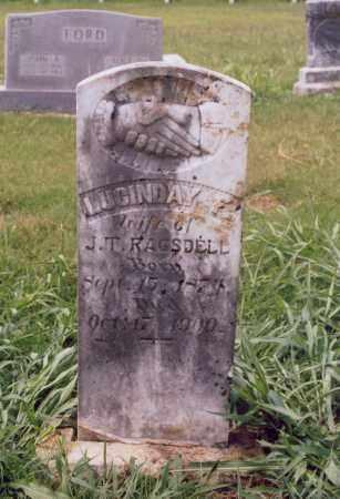 FORD RAGSDELL, LUCINDA - Randolph County, Arkansas | LUCINDA FORD RAGSDELL - Arkansas Gravestone Photos