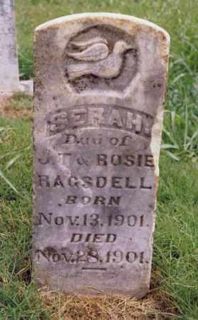 RAGSDELL, SERAH - Randolph County, Arkansas | SERAH RAGSDELL - Arkansas Gravestone Photos