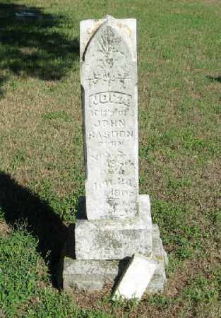 RASDON, NORA - Randolph County, Arkansas | NORA RASDON - Arkansas Gravestone Photos