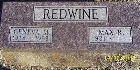 REDWINE, GENEVA M. - Randolph County, Arkansas | GENEVA M. REDWINE - Arkansas Gravestone Photos