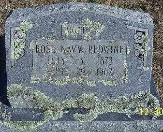 REDWINE, ROSE NAVY - Randolph County, Arkansas | ROSE NAVY REDWINE - Arkansas Gravestone Photos