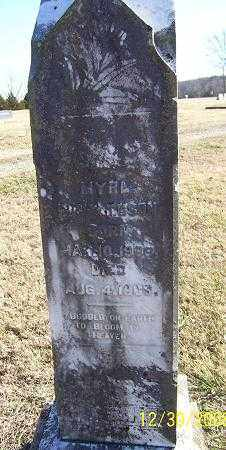 RICHARDSON, MYRA - Randolph County, Arkansas | MYRA RICHARDSON - Arkansas Gravestone Photos