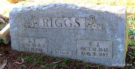 BRYANT RIGGS, ELIZABETH JANE - Randolph County, Arkansas | ELIZABETH JANE BRYANT RIGGS - Arkansas Gravestone Photos