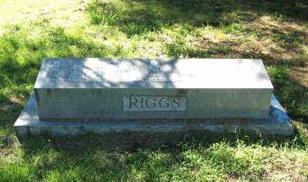 RIGGS, R. MACK - Randolph County, Arkansas | R. MACK RIGGS - Arkansas Gravestone Photos