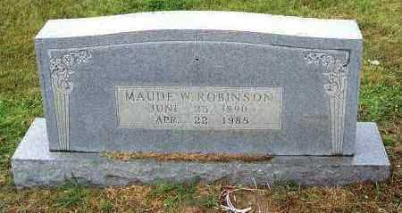 CULLUM ROBINSON, MAUDE - Randolph County, Arkansas | MAUDE CULLUM ROBINSON - Arkansas Gravestone Photos