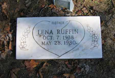 RUFFIN, LENA - Randolph County, Arkansas | LENA RUFFIN - Arkansas Gravestone Photos