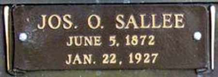 SALLEE, JOSEPH OLIVER - Randolph County, Arkansas | JOSEPH OLIVER SALLEE - Arkansas Gravestone Photos