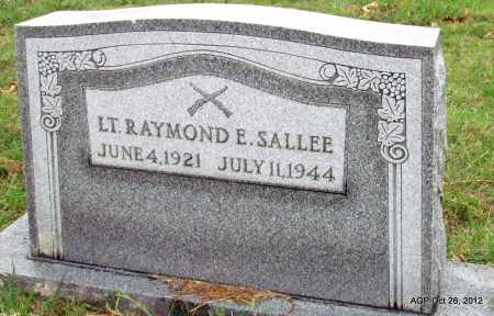 SALLEE (VETERAN WWII), RAYMOND E - Randolph County, Arkansas | RAYMOND E SALLEE (VETERAN WWII) - Arkansas Gravestone Photos