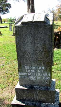 SANDERS, GEORGEAN - Randolph County, Arkansas | GEORGEAN SANDERS - Arkansas Gravestone Photos