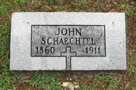 SCHAECHTEL, JOHN - Randolph County, Arkansas | JOHN SCHAECHTEL - Arkansas Gravestone Photos
