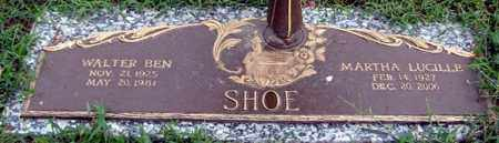 SHOE, WALTER BEN - Randolph County, Arkansas | WALTER BEN SHOE - Arkansas Gravestone Photos