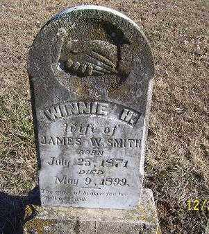 SMITH, WINNIE H. - Randolph County, Arkansas | WINNIE H. SMITH - Arkansas Gravestone Photos