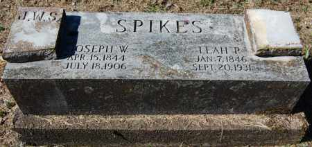 SPIKES, JOSEPH W. - Randolph County, Arkansas | JOSEPH W. SPIKES - Arkansas Gravestone Photos