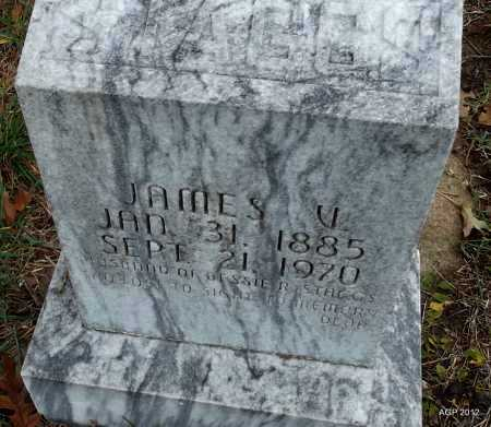 STAGGS, JAMES V - Randolph County, Arkansas | JAMES V STAGGS - Arkansas Gravestone Photos
