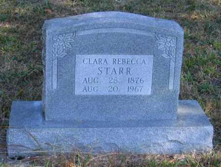 MCCARROLL STARR, CLARA REBECCA - Randolph County, Arkansas | CLARA REBECCA MCCARROLL STARR - Arkansas Gravestone Photos